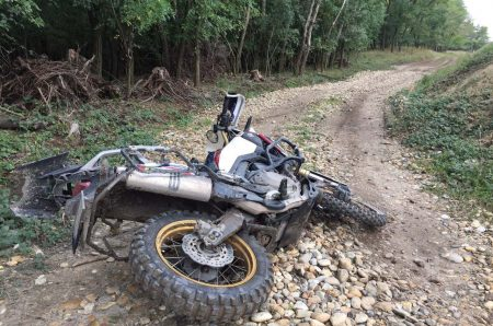 Honda Africa Twin 1000 crash bars