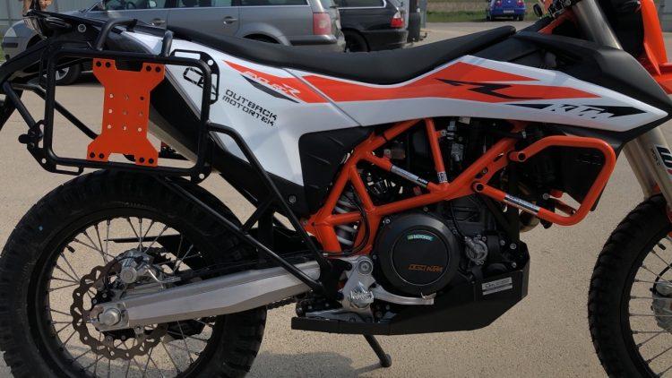 KTM 690 R Adventure pannier racks
