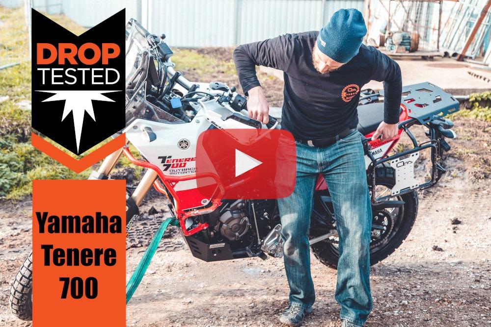 Yamaha Tenere 700 Drop Test