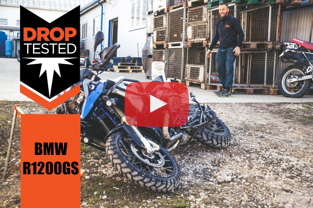 BMW R1200GS Tested Crash Bars