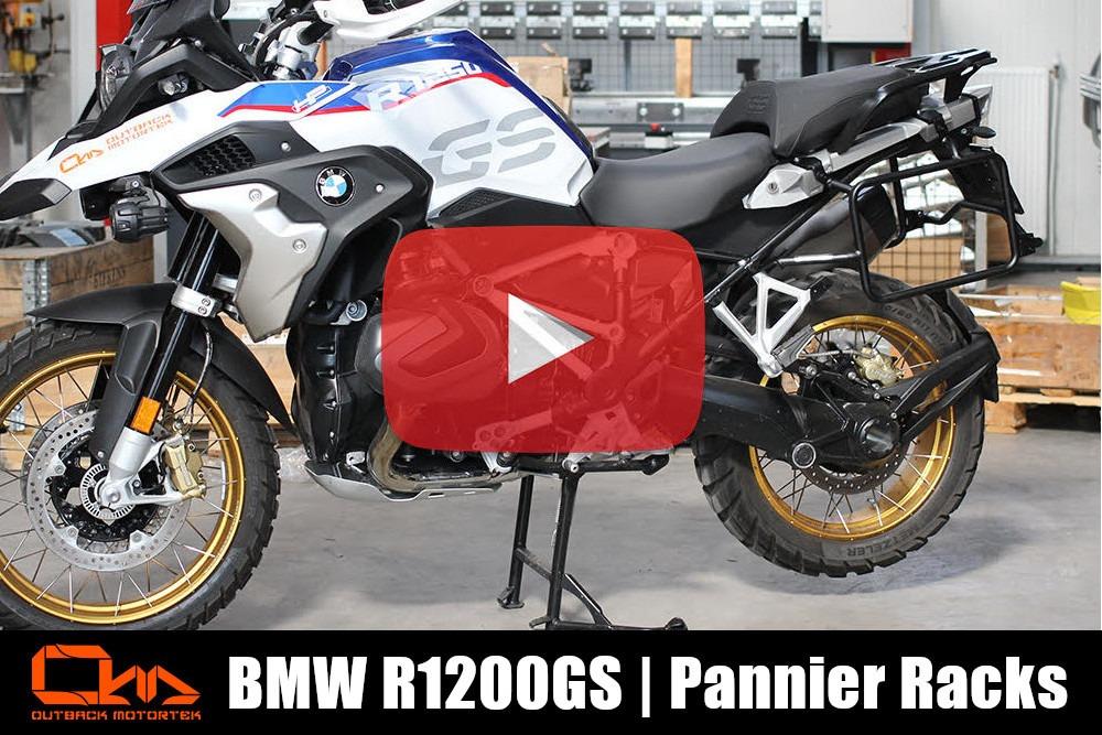 BMW 1200/1250GS Pannier Racks Installation