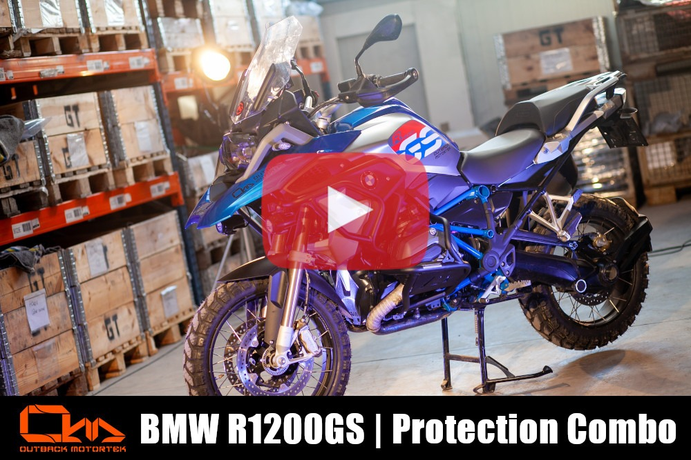 BMW R1200GS LC Protection Combo Installation