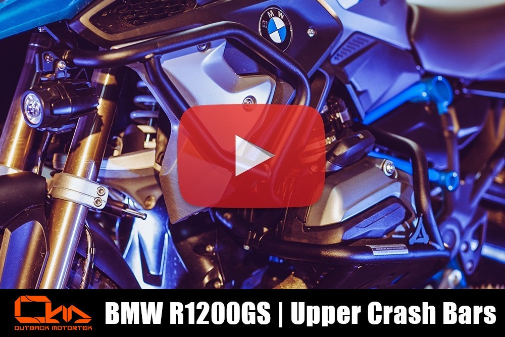 BMW R1200GS Upper Crash Bars Installation