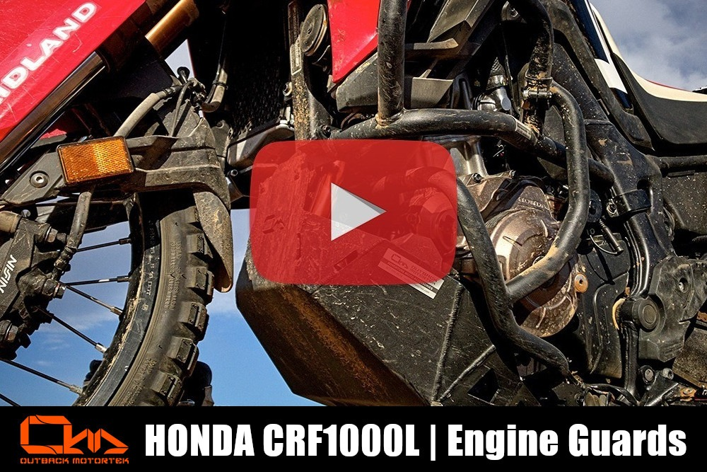 Honda CRF1000L Africa Twin Engine Guard Installation