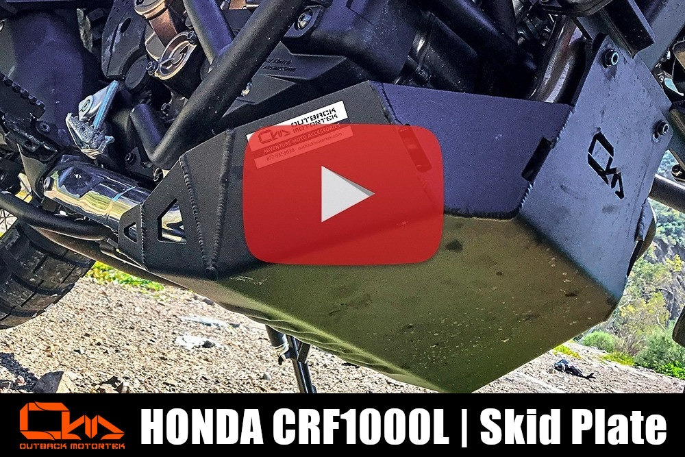 Honda CRF1000L Africa Twin Skid Plate Installation