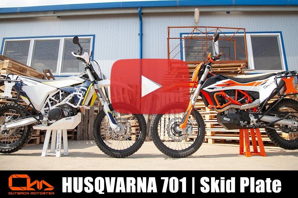 Husqvarna 701 Enduro Skid Plate Installation