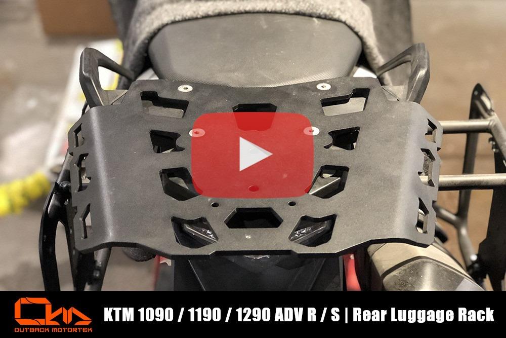 KTM 1090 / 1190 / 1290 Adventure R / S Rear Rack Installation