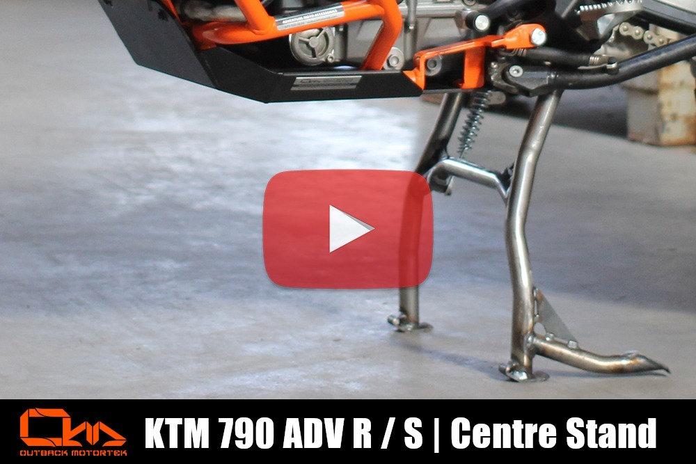 KTM 790 Adventure R / S Centre Stand Installation