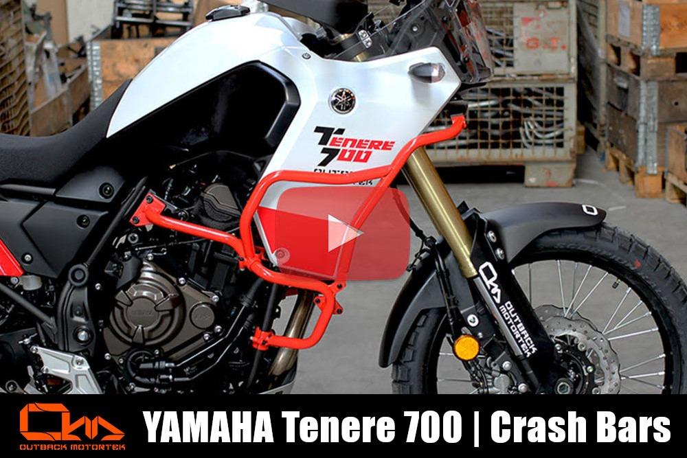 Yamaha Tenere 700 Crash Bars Installation Video